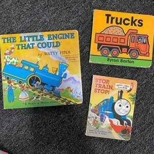 Transportation Board Book Lot